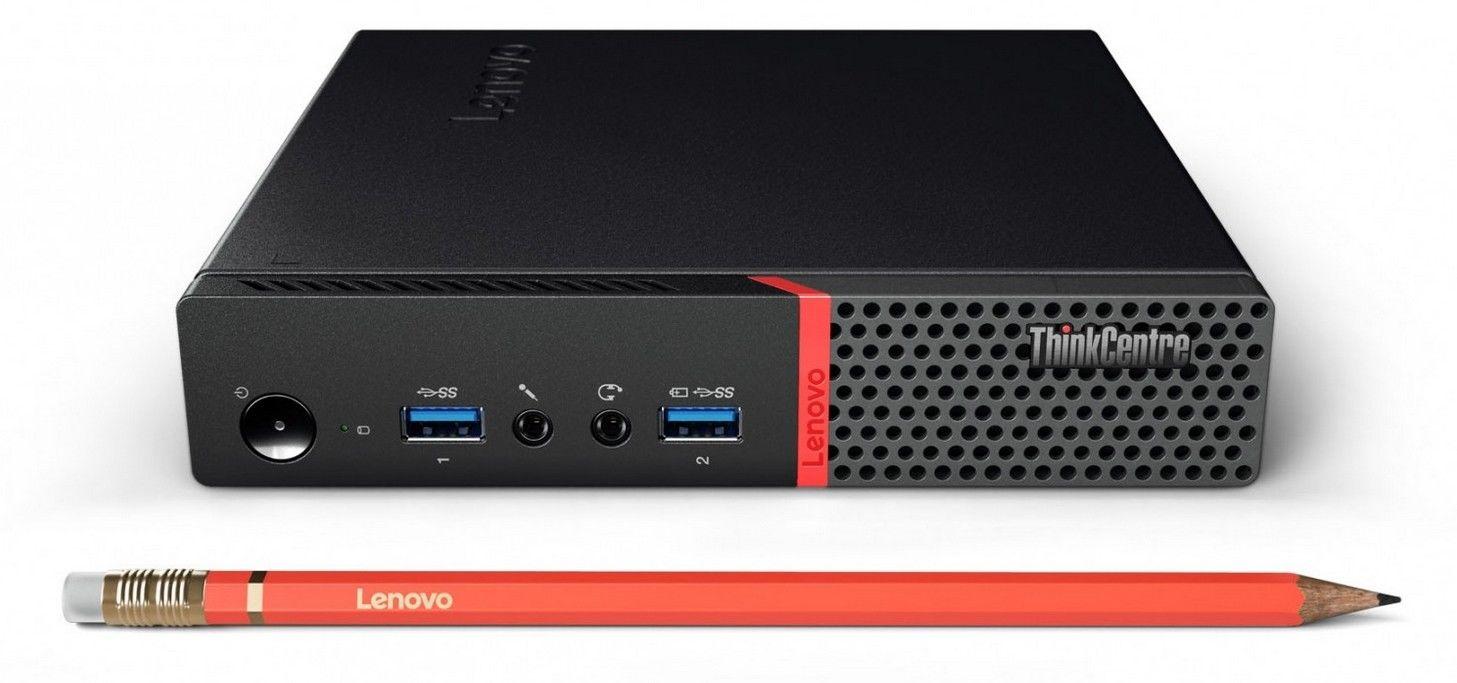 Lenovo ThinkCentre M910q Tiny i5-6500T 8GB 500GB WIFI Win10P kbrd Mouse  Warranty