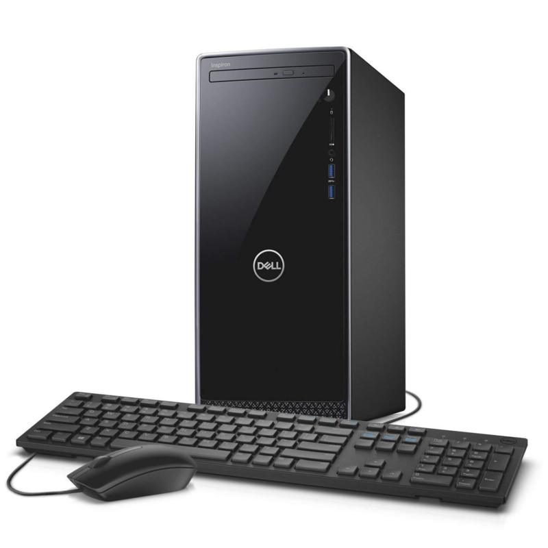 Dell Inspiron 3670 Desktop I7 8700 16gb 2tb Dvdrw Wifi Gt